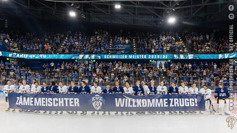 EV Zug - 2021: Meistern - Legenden - 14-08-2021