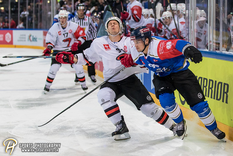 Champions Hockey League: EV Zug - JYP Jyväskylä - 6:3 - Bild-ID: 201709020653