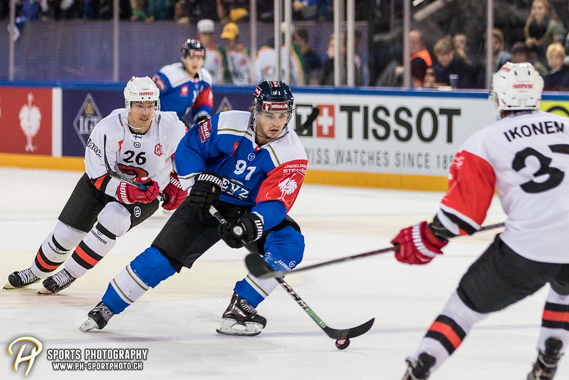 Champions Hockey League: EV Zug - JYP Jyväskylä - 6:3 - Bild-ID: 201709020851