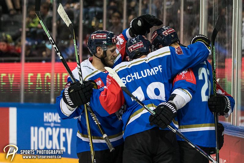 Champions Hockey League: EV Zug - JYP Jyväskylä - 6:3 - Bild-ID: 201709020798