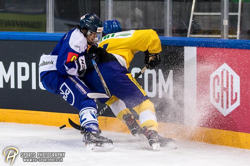 EVZ-Volksfest Vorbereitungsspiel: EVZ Team - HC Davos - 1:4 - Bild-ID: 201709010093
