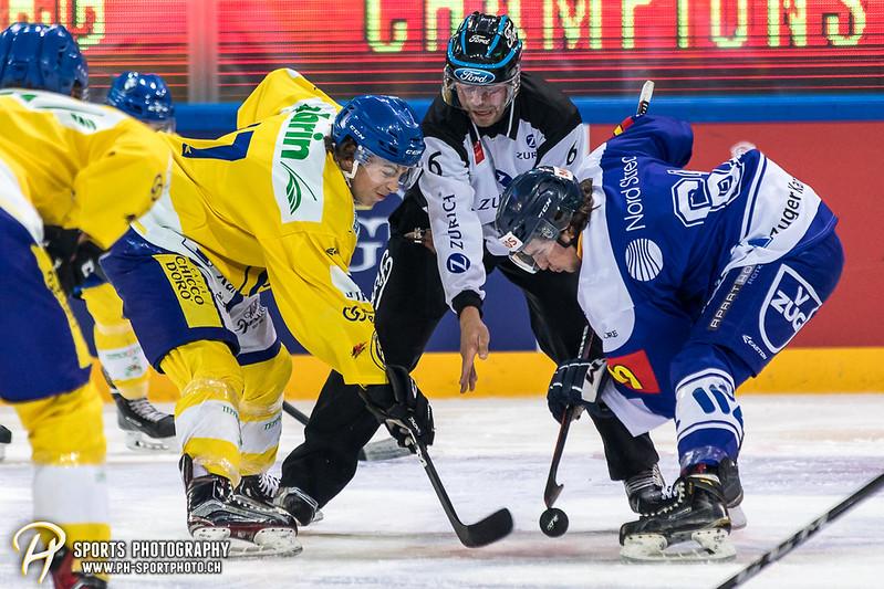 EVZ-Volksfest Vorbereitungsspiel: EVZ Team - HC Davos - 1:4 - Bild-ID: 201709010081