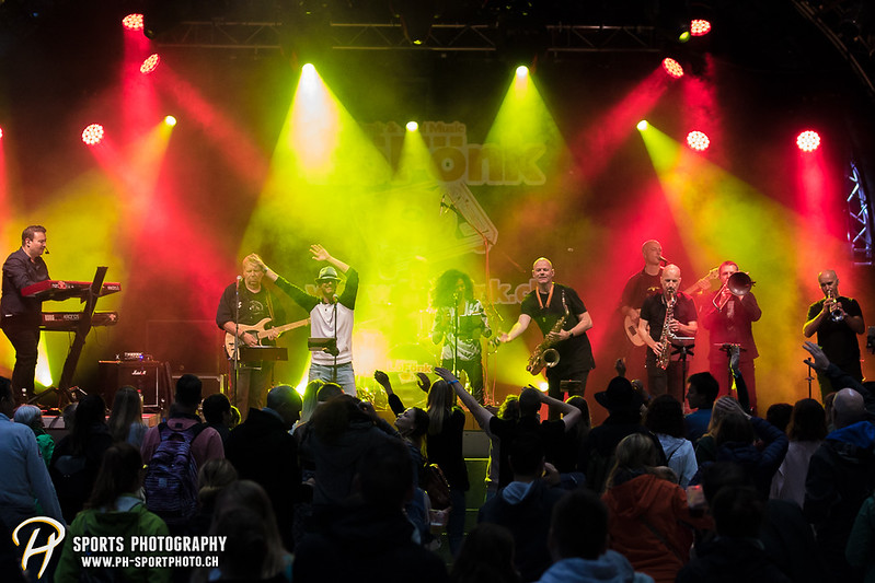EVZ-Volksfest: Konzert - LöFönk - Bild-ID: 201709010087