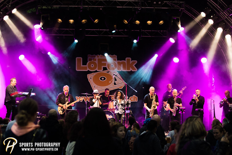EVZ-Volksfest: Konzert - LöFönk - Bild-ID: 201709010065