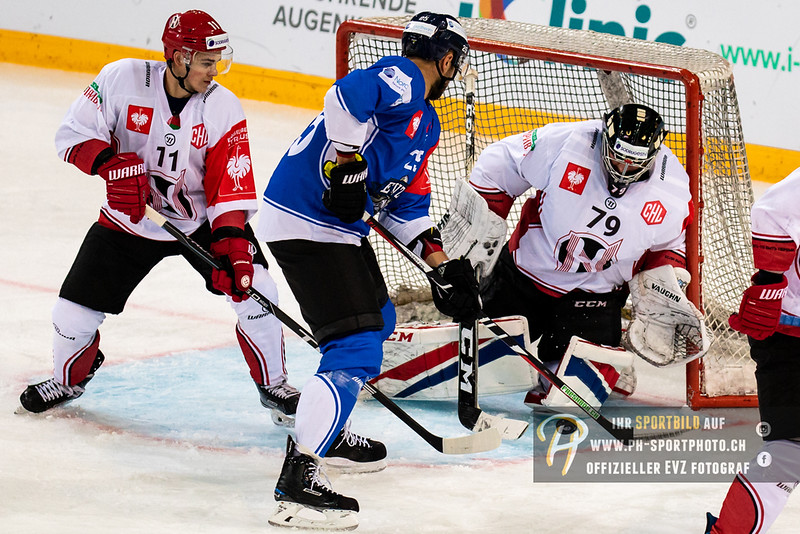 Champions Hockey League - 18/19: EV Zug - Neman Grodno - 08-09-2018