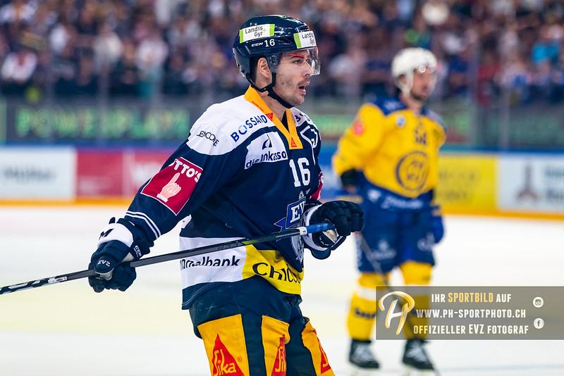 National League - 18/19: EV Zug - HC Davos - 28-09-2018
