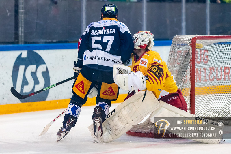 National League - 18/19: EV Zug - SCL Tigers - 19-10-2018