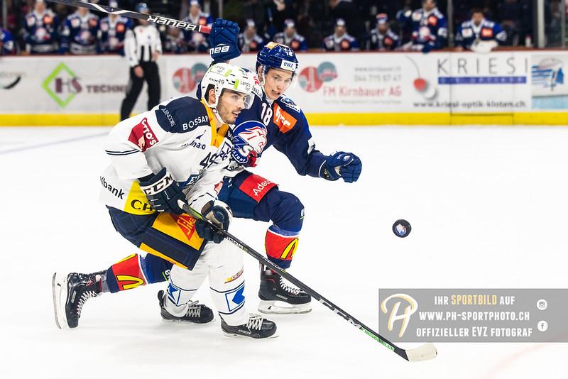 National League - 18/19: ZSC Lions - EV Zug - 13-11-2018