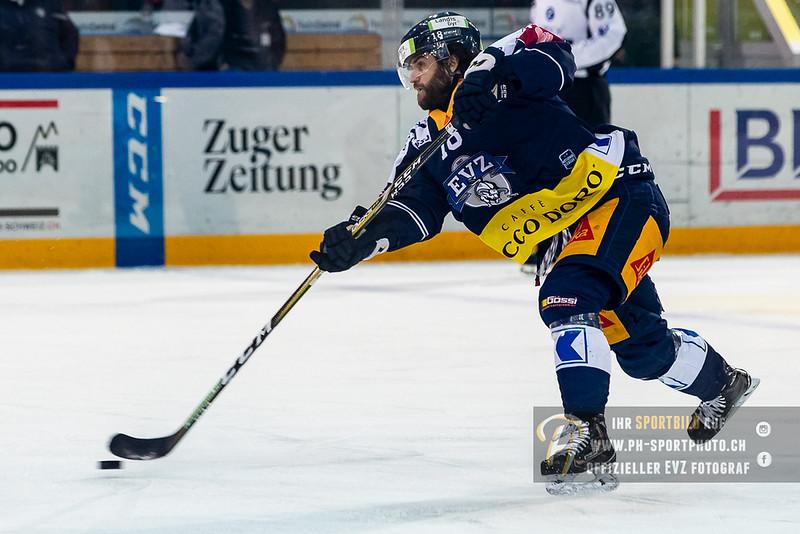 National League - 18/19: EV Zug - HC Davos - 08-12-2018