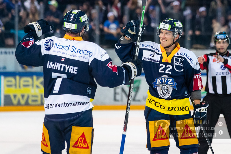 National League - 18/19: EV Zug - HC Lugano - 17-12-2018