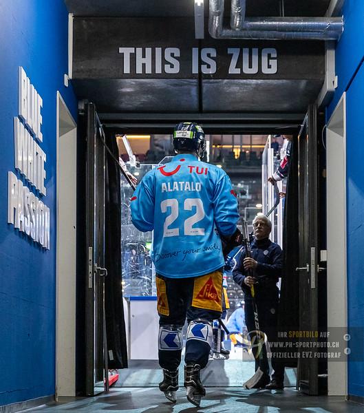 National League - 18/19: EV Zug - SC Rapperswil-Jona Lakers - 22-12-2018