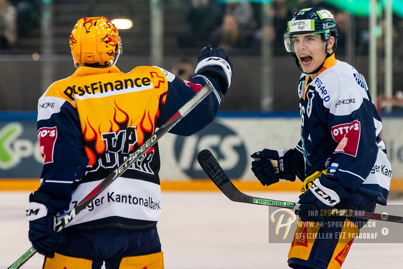 National League - 18/19: EV Zug - Lausanne HC - 11-01-2019