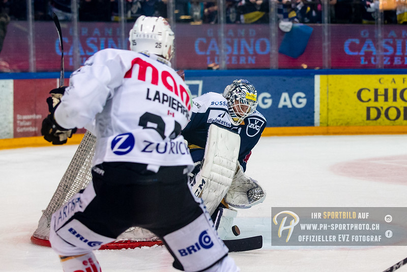 National League - Playoff Viertelfinal - Spiel 1 - 18/19: EV Zug - HC Lugano - 09-03-2019