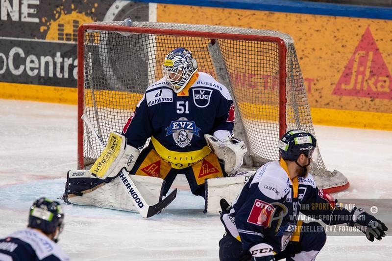 National League - Playoff Viertelfinal - Spiel 3 - 18/19: EV Zug - HC Lugano - 14-03-2019