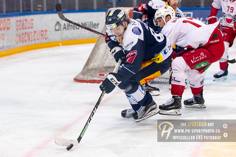 National League - Playoff Halbfinal - Spiel 1 - 18/19: EV Zug - HC Lausanne - 26-03-2019