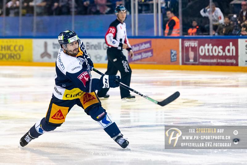 National League - Playoff Halbfinal - Spiel 5 - 18/19: EV Zug - HC Lausanne - 04-04-2019