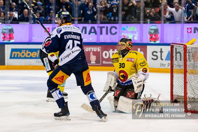 National League - Playoff Final - Spiel 2 - 18/19: EV Zug - SC Bern - 13-04-2019