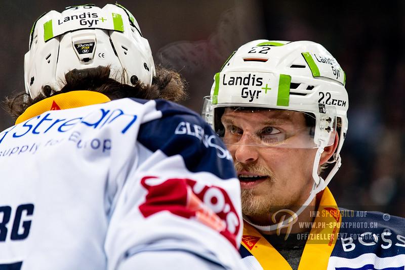 National League - Playoff Final - Spiel 5 - 18/19: SC Bern - EV Zug - 20-04-2019