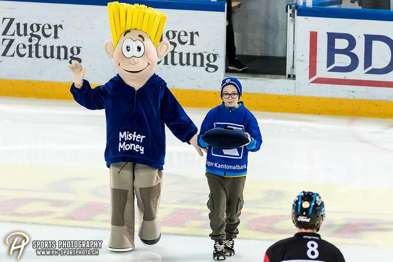 National League Playoff - Viertelfinal - Spiel 5: EV Zug - ZSC Lions - 2:3 OT
