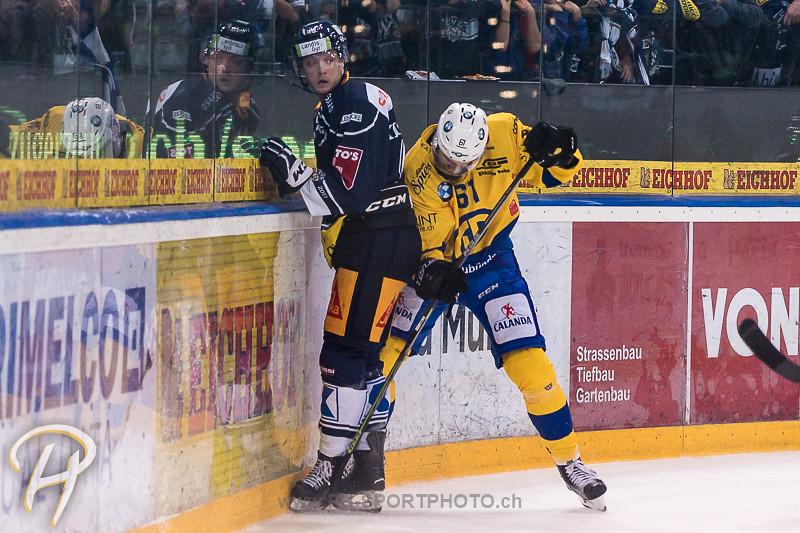 National League A: EV Zug - HC Davos - 2:1