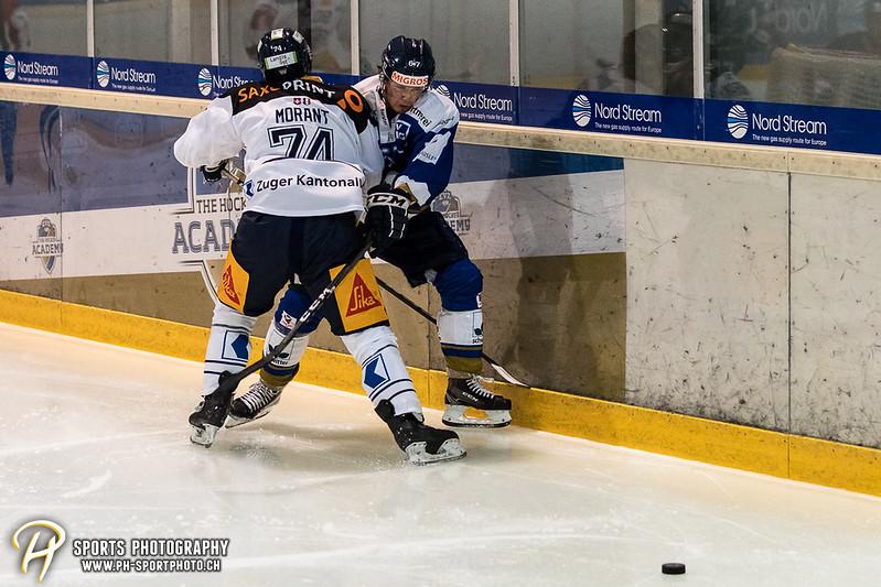 Freundschaftsspiel: EV Zug - EVZ Academy - 3:0