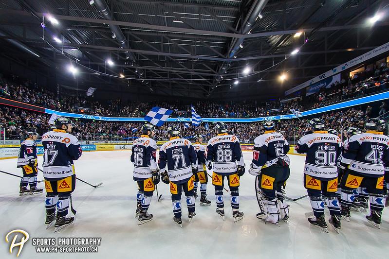 National League: EV Zug - HC Ambri-Piotta - 4:2
