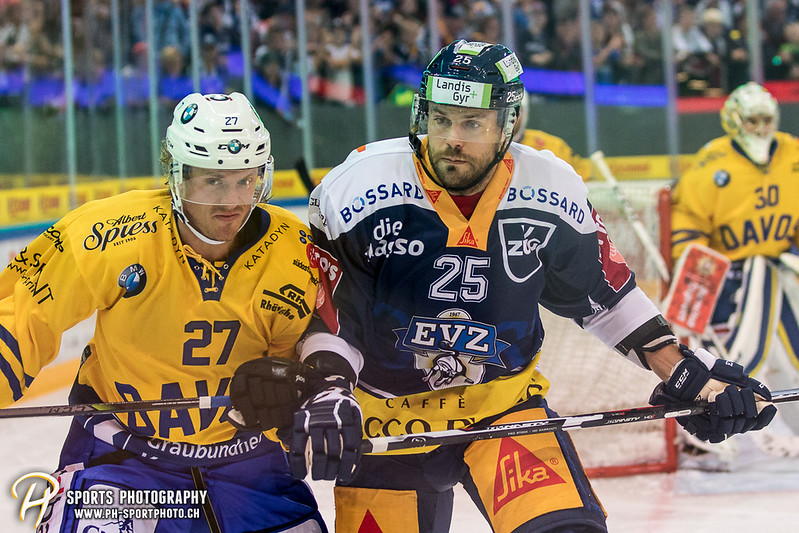 National League:  EV Zug - HC Davos - 5:1