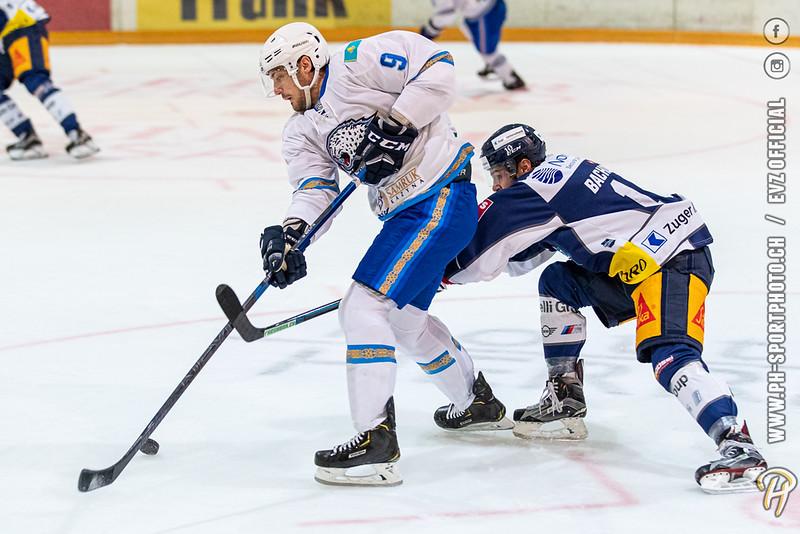 Lehner Cup - 19/20: EV Zug - Barys Nur-Sultan - 17-08-2019