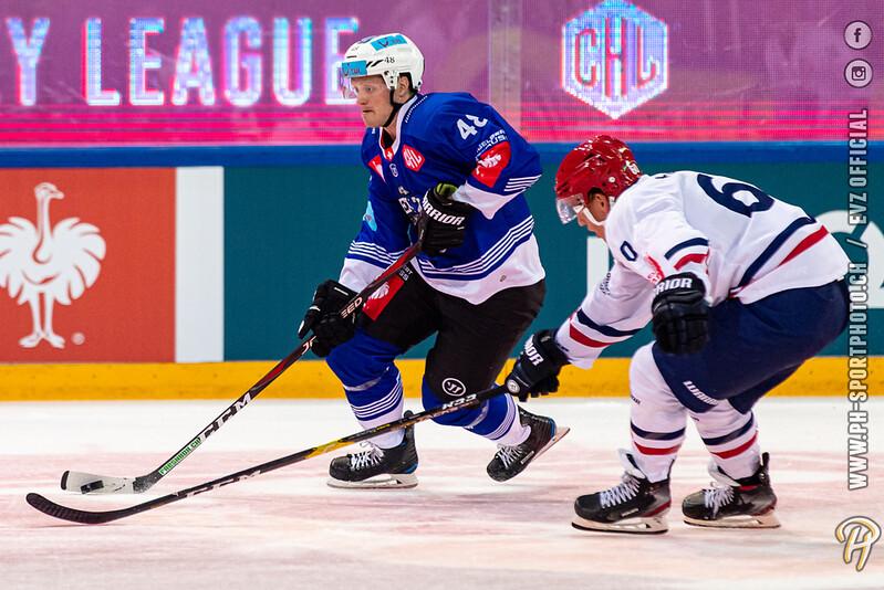 Champions Hockey League - 19/20: EV Zug - Rungsted Seier Capital - 29-08-2019