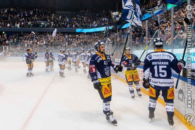 National League - 19/20: EV Zug - ZSC Lions - 14-09-2019