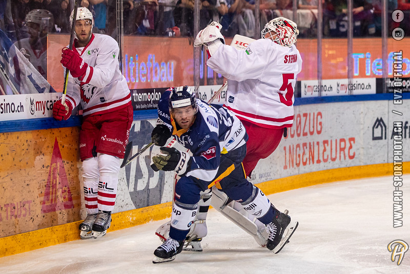 National League - 19/20: EV Zug - Lausanne HC - 17-09-2019