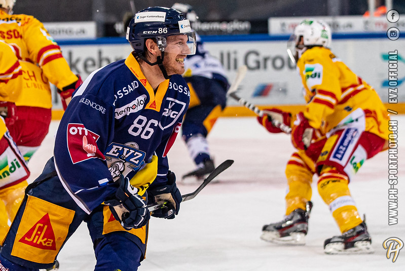 National League - 19/20: EV Zug - EHC Biel-Bienne - 05-10-2019