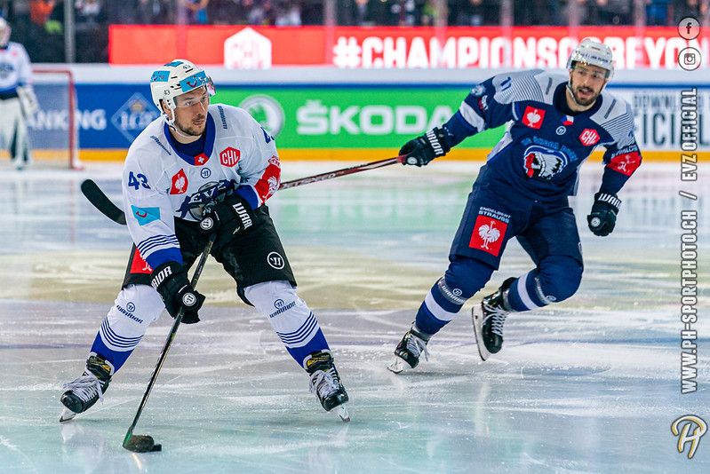 Champions Hockey League - 19/20: EVZ Academy - HC Pilsen - 09-10-2019