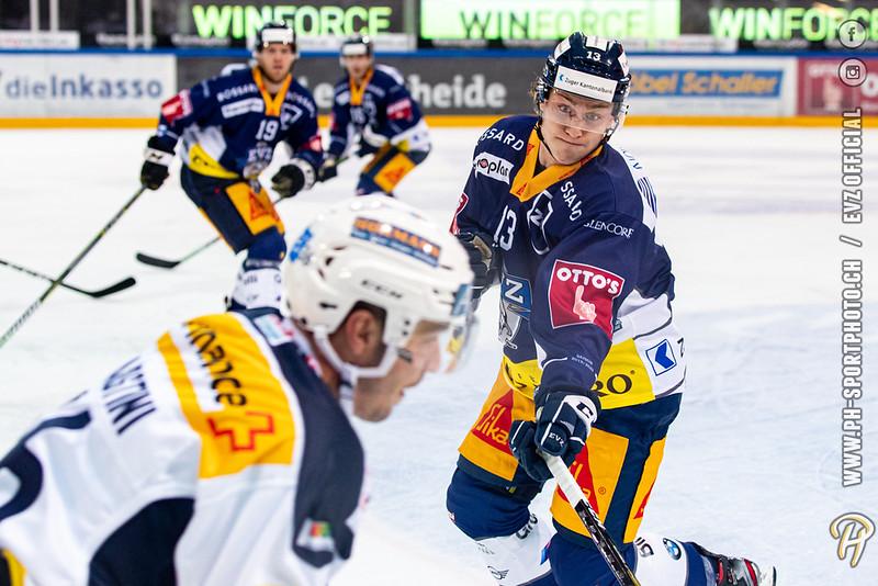 National League - 19/20: EV Zug - HC Ambri-Piotta - 11-10-2019
