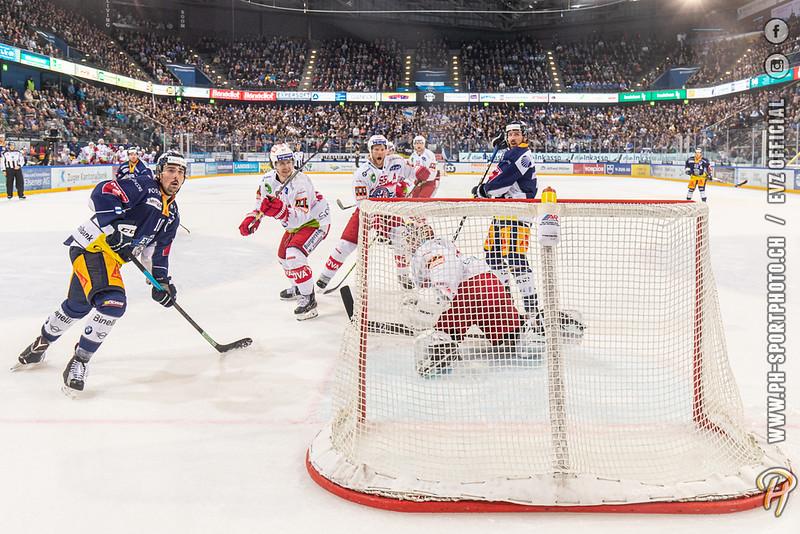 National League - 19/20: EV Zug - SC Rapperswil-Jona Lakers - 18-10-2019