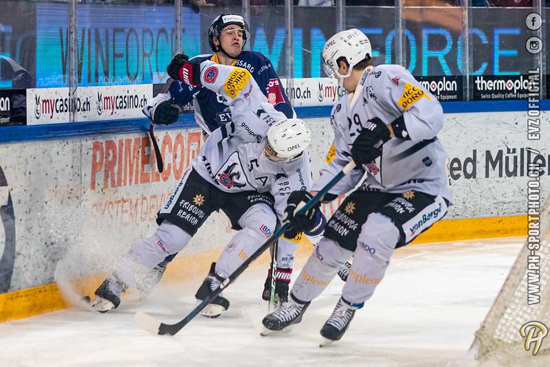 National League - 19/20: EV Zug - HC Fribourg-Gotteron - 01-11-2019