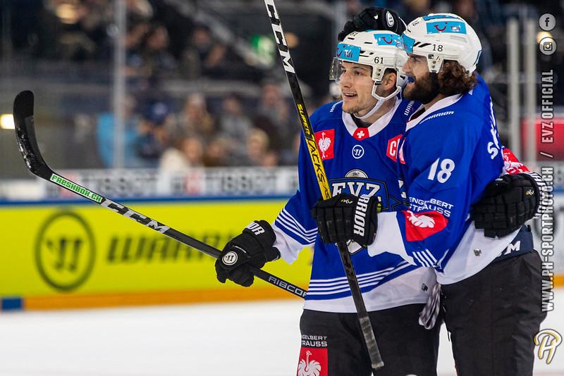 Champions Hockey League - 19/20: EV Zug - Tappara Tampere - 19-11-2019