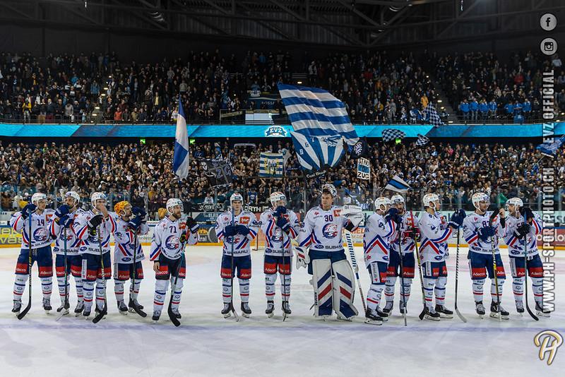 National League - 19/20: EV Zug - ZSC Lions - 22-11-2019