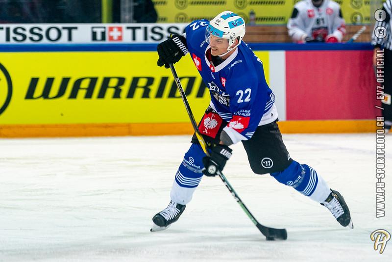Champions Hockey League - 19/20: EV Zug - Mountfield HK - 10-12-2019
