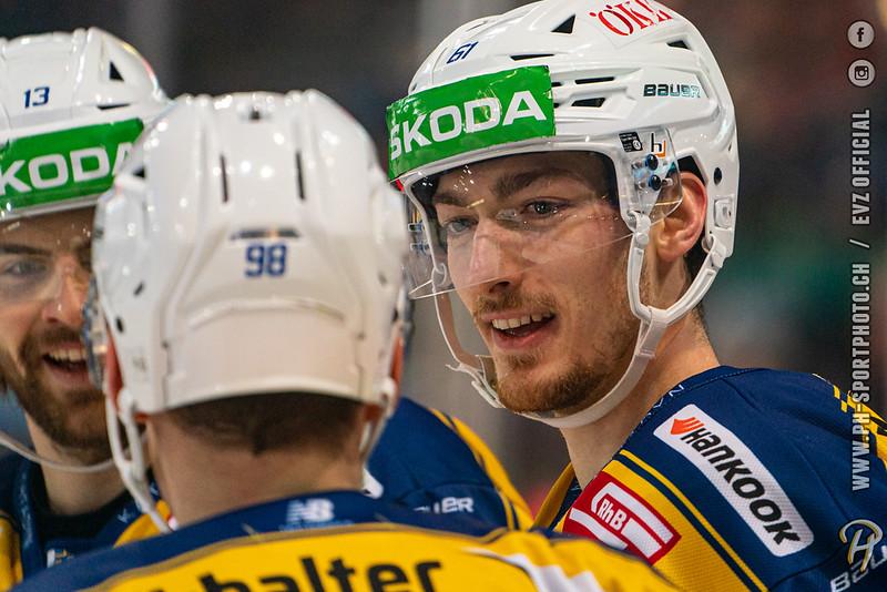 National League - 19/20: EV Zug - HC Davos - 20-12-2019