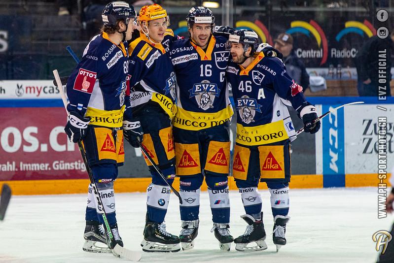 National League - 19/20: EV Zug - Genève-Servette HC - 03-01-2020