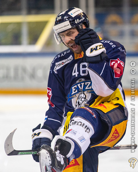 National League - 19/20: EV Zug - SCL Tigers - 21-01-2020