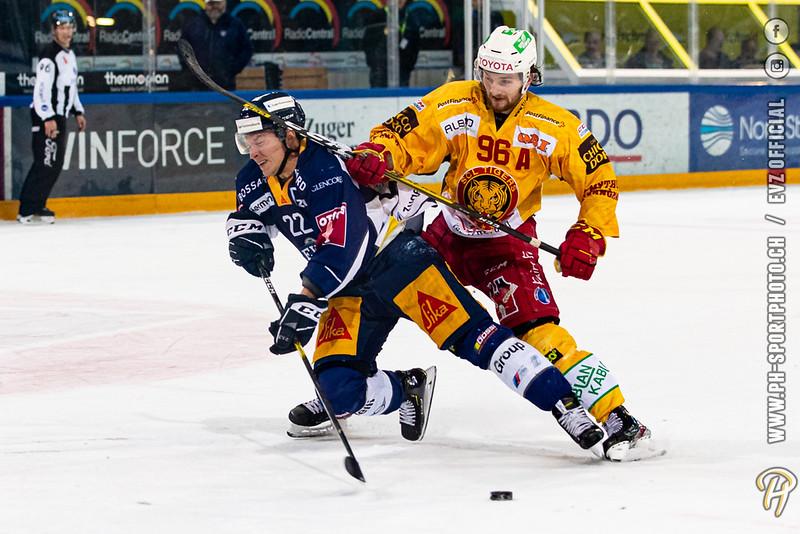 National League - 19/20: EV Zug - SCL Tigers - 28-02-2020