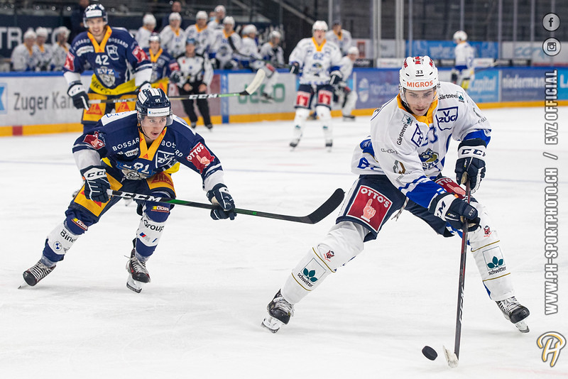 National und Swiss League - 20/21: EV Zug - EVZ Academy - 16-08-2020