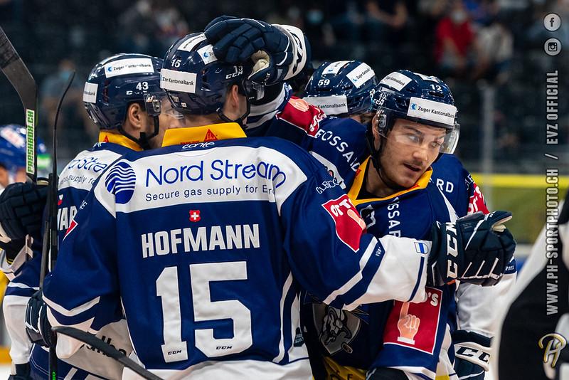 National League - 20/21: EV Zug - HC Davos - 11-09-2020