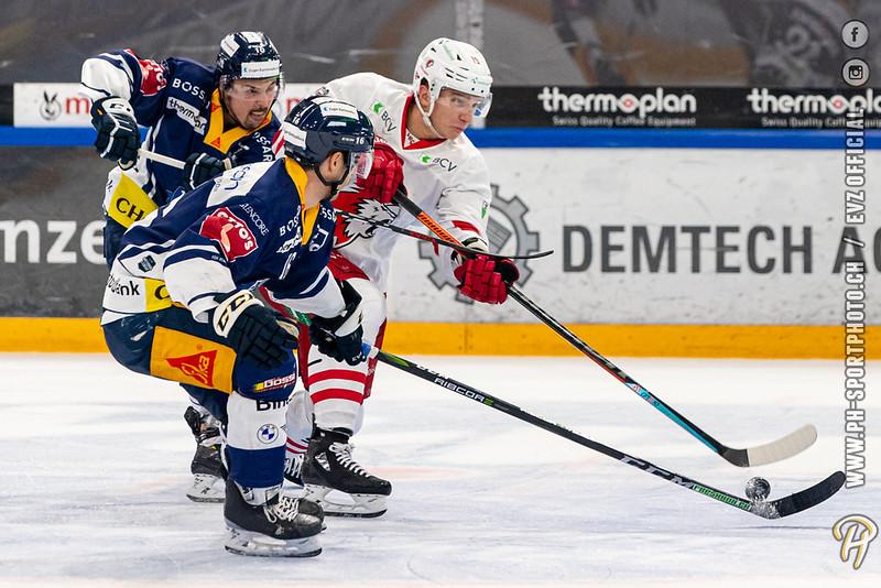 National League - 20/21: EV Zug - Lausanne HC - 16-10-2020
