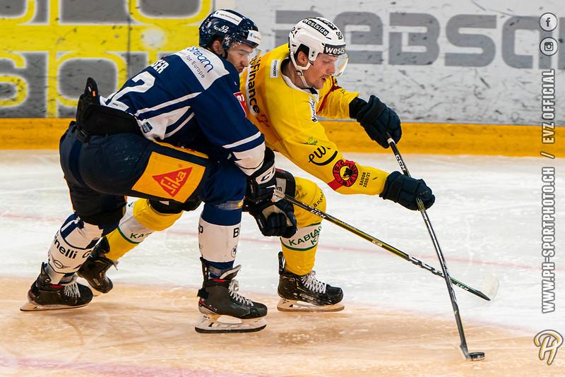 National League - 20/21: EV Zug - SC Bern - 03-12-2020