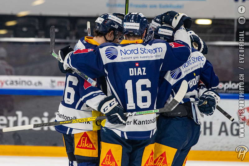 National League - 20/21: EV Zug - Lausanne HC - 15-12-2020