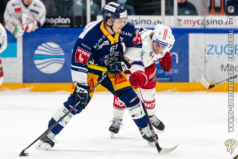 National League - 20/21: EV Zug - SC Rapperswil-Jona Lakers - 12-01-2021