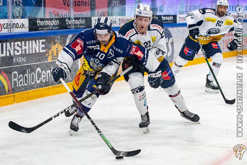 National League - 20/21: EV Zug - HC Ambrì-Piotta - 02-03-2021